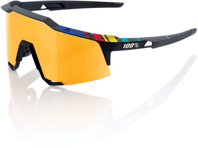 100% Speedcraft Glasses Tall soft tact black p1   peter sagan limited edition kit